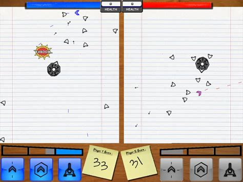 scribble wars digipen game gallery