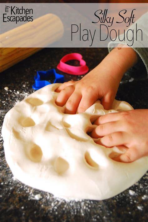 silky soft play dough tgif  grandma  fun