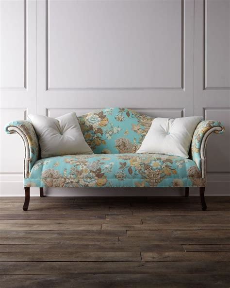shabby chic loveseat haute house quot jadda quot sofa 4 199 00 shabby chic sofas couches and