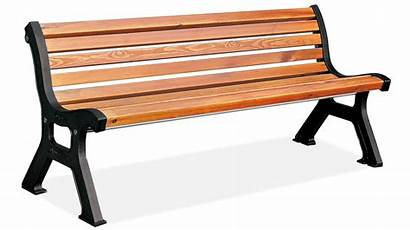 Bench Park Clipart Furniture Outdoor Benches Wood