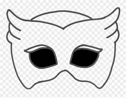 Mask Clipart Pj Masks Printable Template Pinclipart