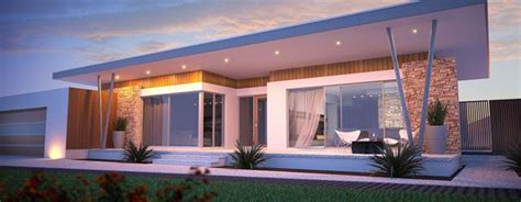 Single Level Home Designs by Best Single Level House Plan For Modern Retreat Homesfeed