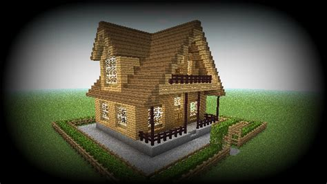 minecraft     house big easy wooden house  youtube
