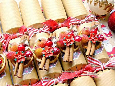 red christmas crackers luxury handmade  sweetystuff