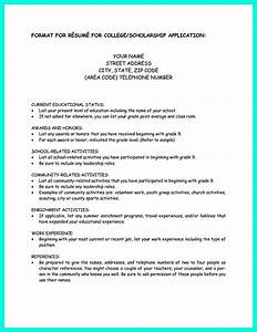 write properly your accomplishments in college application With how to write a resume for college application