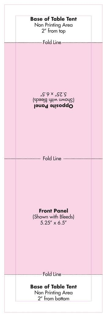 tent card template powerpoint table tent template peerpex