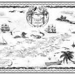 caribbean nautical chart  savanna redman