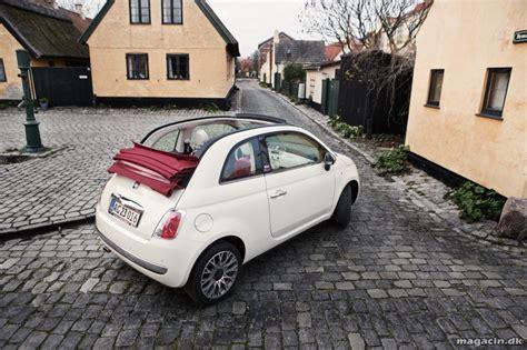 Fiat Ny by Fiat 500 Ny Kagneversion Den Lille Elegante Magacin Dk
