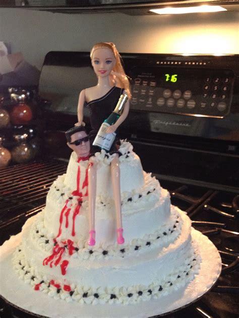 funny cakes celebrating  divorce snappy pixels