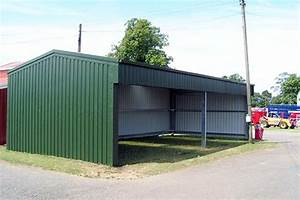 open barn field shelter steel building kits With agricultural steel building kits