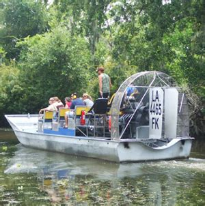 fan boat tour new orleans airboat sw tours new orleans sw tours