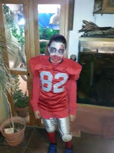 Halloween Zombie Football Player