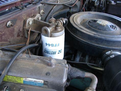 filtro carburante la sua importanza  nuovi modelli