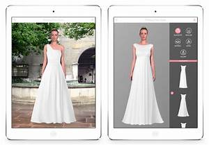 Wedding dress studio enables brides virtually try on for Wedding dress app