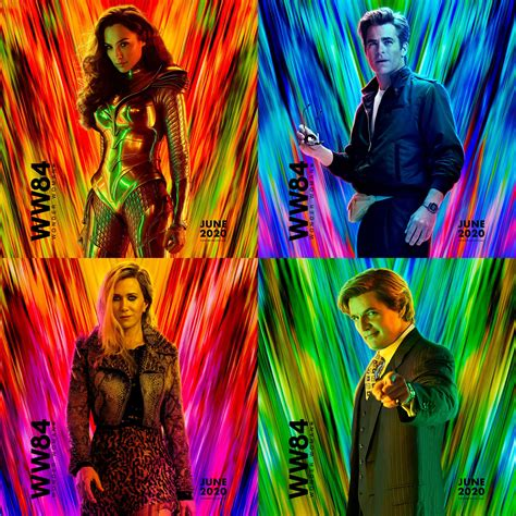 Wonder woman 1984 has, after much back and forth, had its release date locked in, dropping on hbo max and in the us on december 25. New character posters for Wonder Woman 1984 : movies