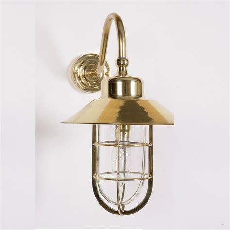 The Limehouse Lamp Company Wheelhouse 448w Polished Brass