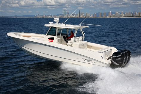 Whaler Fishing Boats by Boston Whaler 370 Outrage Fishing Boat Review Boatadvice