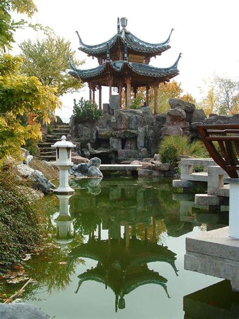 Chinesischer Garten  G A R D E N  Pinterest Gärten