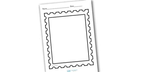 design  post office stamp teacher