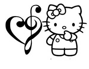 Hello Kitty Valentine's Day Coloring Pages