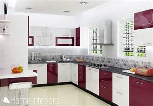 interiors for home fascinating contemporary budget home kitchen interior design