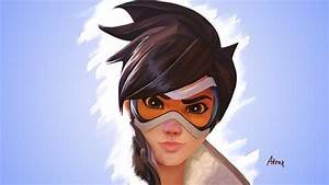Overwatch Tracer Wallpaper 4K By Atroxcze On DeviantArt