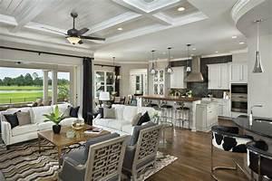 Asheville Model Home Interior Design 1264f Traditional