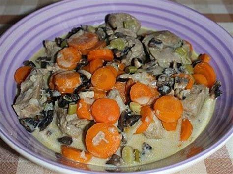 cuisiner une blanquette de veau recettes de blanquette de une folle envie de cuisiner