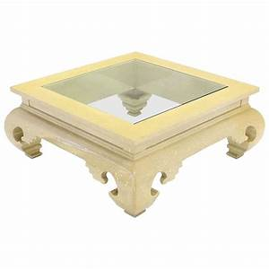 large square figural base lacquer coffee table for sale at With large square coffee tables for sale