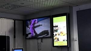 84 Inch Big Screen Wall Mount Lcd Digital Signage Display ...