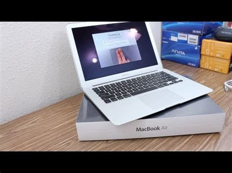amac book air macbook air 13 quot 2011 i5 unboxing 128gb