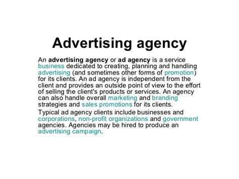 Marketing Agency by Advertising Agency