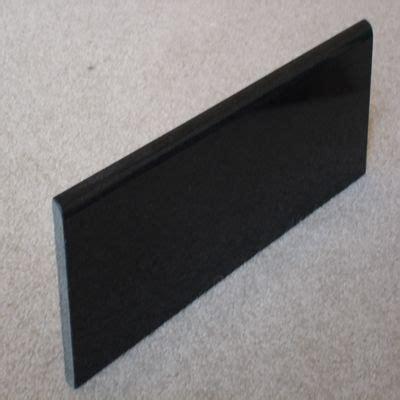 absolute black bullnose white granite countertops