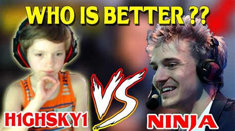 who s betten h1ghsky1 vs who is better this 10 year kid kills myth