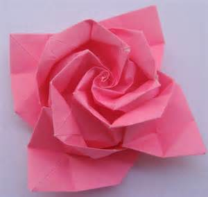 Endearing How To Make Origami Roses   Fun Origami Pages