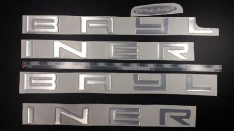 Bayliner Boat Emblems by Decals For Sale Page 103 Of Find Or Sell Auto Parts