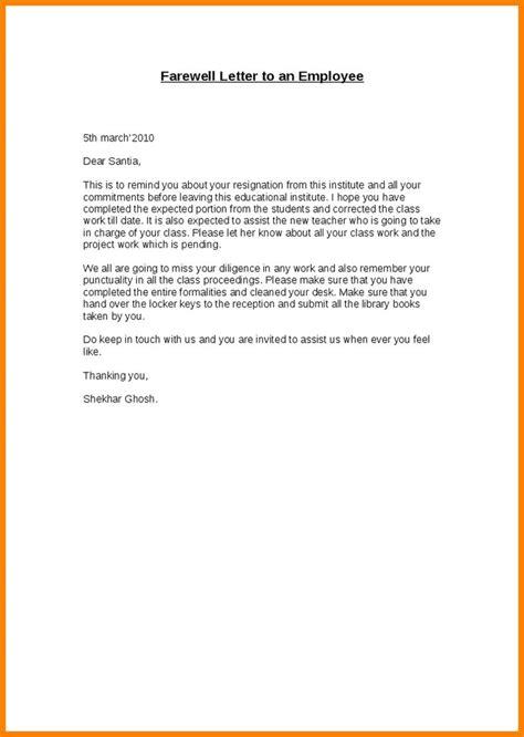 simple resignation letter format ideas