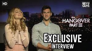Heather Graham & Justin Bartha - The Hangover 3 Exclusive ...