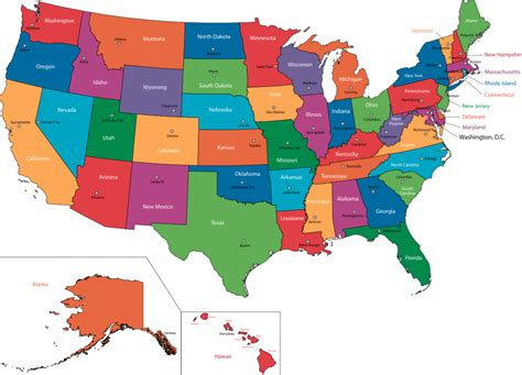 Ranking The 50 States Based On Their Shapes
