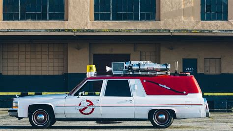 What Is The Ghostbusters Car by Lyft To Offer Rides In Ghostbusters Ecto 1 Exclusive