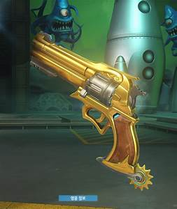 Check Out Overwatch39s Gold Weapon Competitive Rewards
