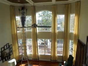 two story curtains photos