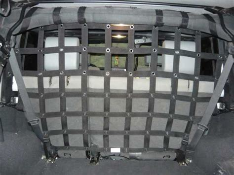 dirty dog products cargopet divider  jeep jk