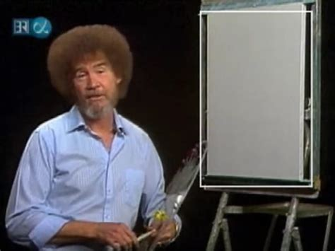 Omg This Video Of Bob Ross' Son Proves That Luscious Hair
