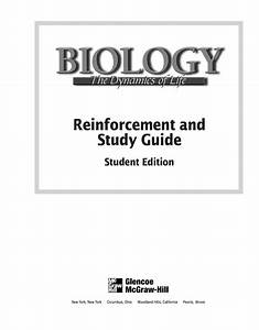 Reinforcement And Study Guide  Student Edition