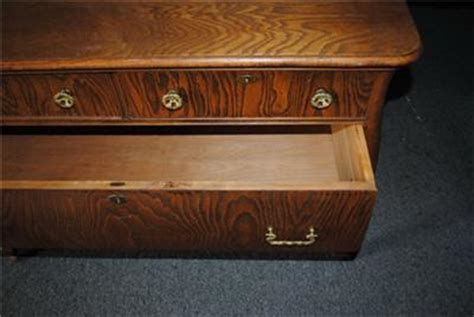 beautiful antique golden tiger oak dresser vanity with