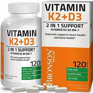 Best Vitamin D3 And K2 Supplement