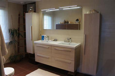 grande salle de bain meuble bois et marron souffle d int 233 rieur