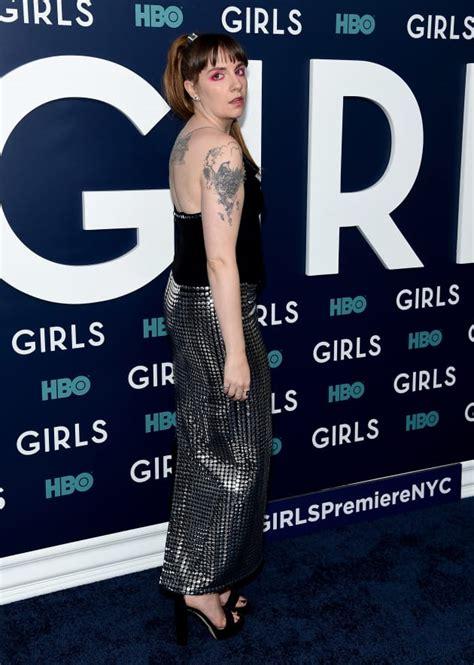 lena dunham debuts boob tattoo inspired  rihanna
