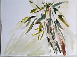 Chinese Brush Painting Bamboo - Hot Girls Wallpaper